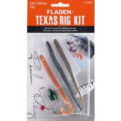 Fladen Texas Rig Kit Red