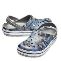 Crocs Crocband Graphic III Clog Camo/Slate Grey, marime M8 W10