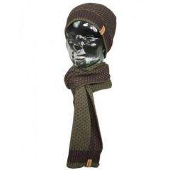 Trakker Earth Hat and Scarf Set