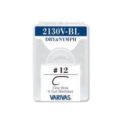 Carlige Varivas Fly 2130V-BL Dry Nymph Fine Nr.12