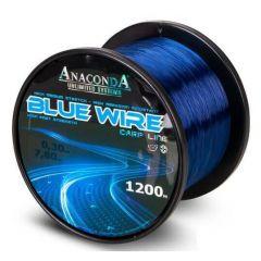 Fir monofilament Anaconda Blue Wire 0.38mm/10.7kg/1200m