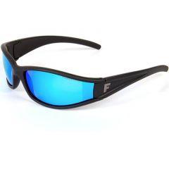 Ochelari de soare Fladen Polarized Matt Black Blue
