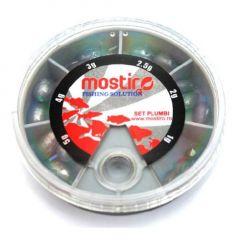 Set plumbi Mostiro culisanti 5, 4, 3, 2.5, 2, 1 gr