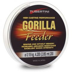Fir monofilament Tubertini Gorilla Feeder 0.20mm/5.64kg/200m