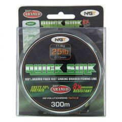 Fir Textil NGT Quick Sink Moss Green 0.23mm/25lb/300m