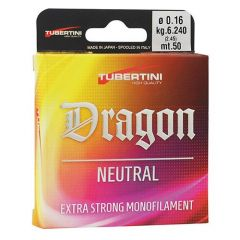 Fir monofilament Tubertini Dragon Neutral 0.11mm/1.97kg/50m
