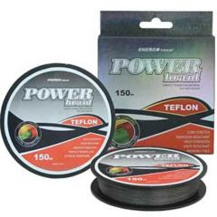 Fir Energoteam Power Braid Teflon Gri 0,18mm/12,7kg/150m