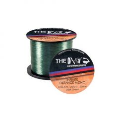 Fir monofilament The One Infinite Distance Mono Green 0.35mm/1200m