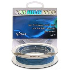 Fir textil Dome TF Blue Feeder Braid 0.08mm/150m