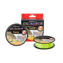 Fir monofilament EnergoTeam Excalibur Carp Fluo Yellow 0,35mm/300m