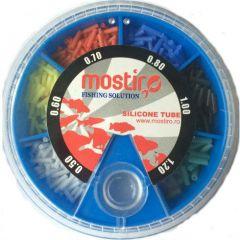 Tub siliconic Mostiro Multicolor 0.5mm-1.2mm