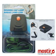 Lanterna cap Mostiro GY-01