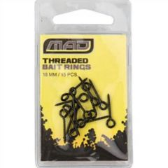 Conector D.A.M. MAD Threaded Bait Rings 18mm