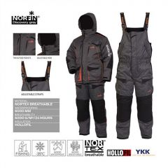 Costum Norfin Discovery Gray, marime XXL