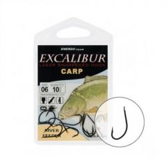Carlige Excalibur River Feeder Black  Nr.1