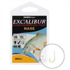 Carlige Excalibur Nase Bolo Gold Nr.10