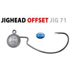 Jig Spro bila cu carlig Gamakatsu Offset Jig 71 nr.3/0, 10gr, plic 3buc.