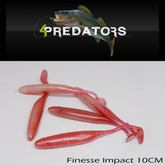 Shad 4Predators Finesse Impact Standard 10cm, culoare S031
