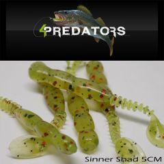 Shad 4Predators Sinner Standard 5cm, culoare S030