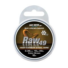 Fir metalic Savage Gear Raw 49 11kg/10m