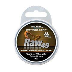 Fir metalic Savage Gear Raw 49 23kg/10m