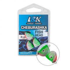 EnergoTeam L&K Cheburaska Fish Head 23g