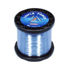 Fir monofilament Asso Triple Force I.G.F.A Rated Force Clear 0.43mm/13.5kg/1000m