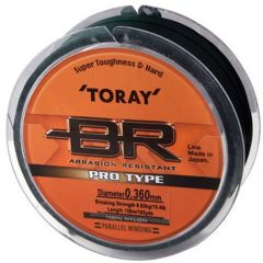 Fir monofilament Toray Pro Type Dark Green 0.215mm/3.25kg/300m