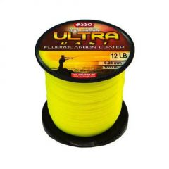 Fir monofilament Asso Ultra Cast Galben Fluo 0.20mm/6.5Kg/1000m