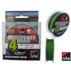 Fir textil DAM Crosspower 4-Braid 0.22mm/110m