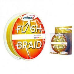 Fir textil Climax Flash Braid Fluo Yellow 0.18mm/13kg/100m