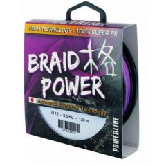 Fir textil Powerline Braid Power Mov 0.18mm/15kg/110m