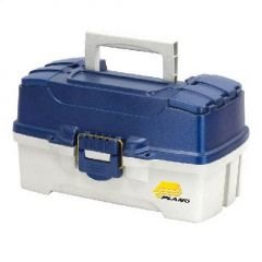 Cutie Plano Two Tray Blue Tackle Box