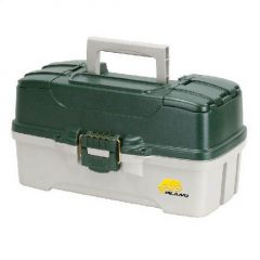 Valigeta Plano Three Tray Green Tackle Box