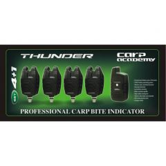 Set 4 avertizori + statie Carp Academy Thunder