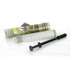 Kit plasa solubila PVA CarpPro Coldwater 18mm/5m+plunger