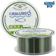 Fir monofilament Cralusso Carp Prestige 0.30mm/7.7kg/350m