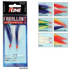 P-Line Farallon Feather 3/0 Yellow/Red