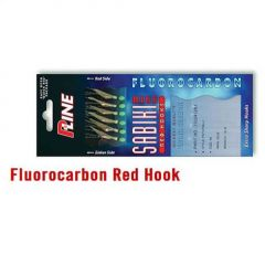 Taparina P-Line Fluorocarbon Red Hook nr.6
