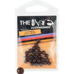 The One Soft Beads 6mm- Brown