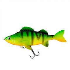 Swimbait D.A.M Effzett Natural Perch, Firetiger, 14cm