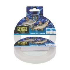 Fir Fluorocarbon Coated EnergoTeam L&K Predator Leader 0.30mm/8.37kg/10m