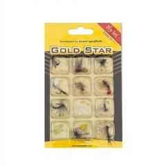 Set Muste Gold Star Trout II 12buc