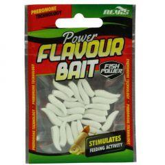 Nevis Power Flavour Bait Maggot White