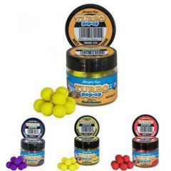 Boilies Benzar Mix Turbo Pop-Up 10mm - Cranberry