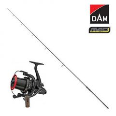 Kit Lanseta DAM MAD D-Fender III UK50 3,90m 13' 3,50Lbs + Mulineta DAM Quick Z-Base