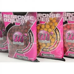 Boilies Mainline Shelf Life Ready Made Response Range Boilies Salmon&Shrimp 15mm 450g