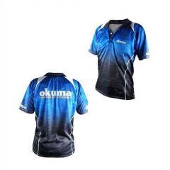 Tricou polo Okuma Blue, marime XL
