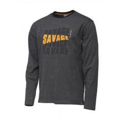 Bluza Savage Gear Simply Savage Logo-Tee, marime XL