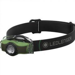 Lanterna cap Led Lenser MH4 Green 200LM